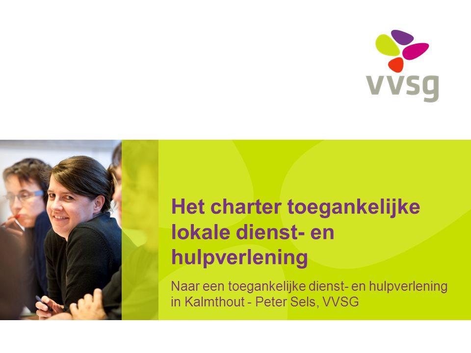 Het charter toegankelijke lokale dienst- en hulpverlening