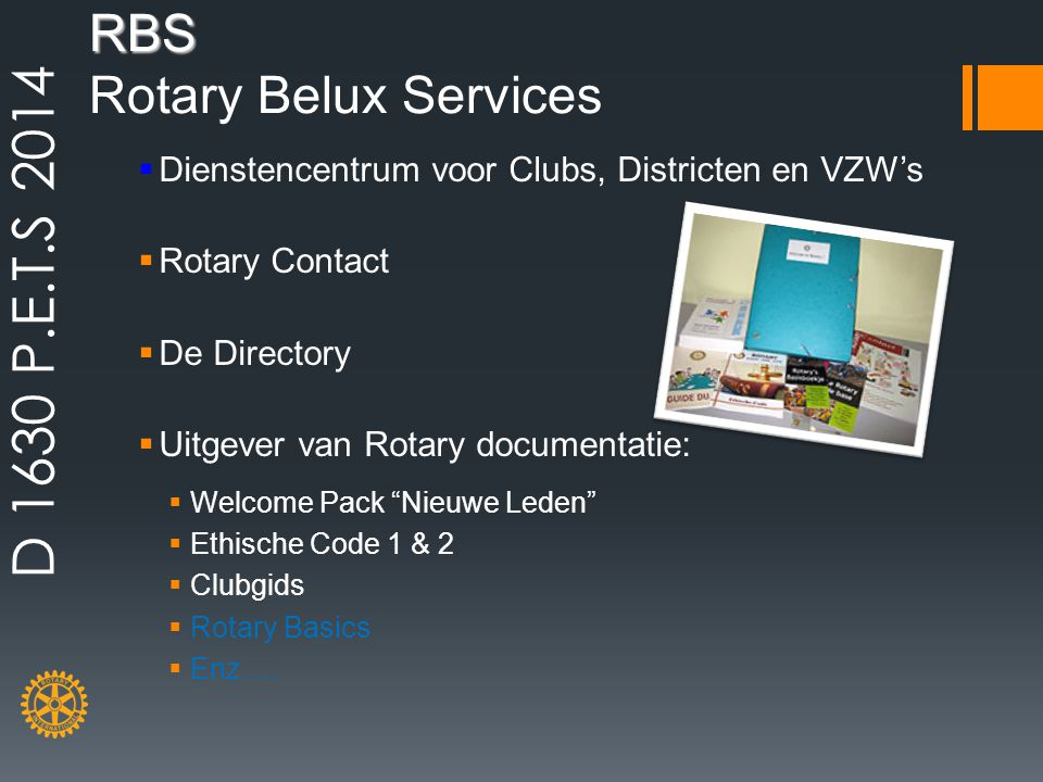 RBS Rotary Belux Services
