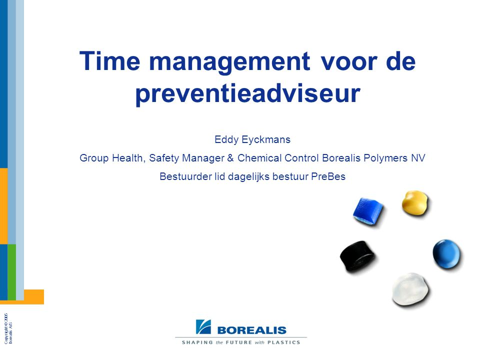 Time management voor de preventieadviseur
