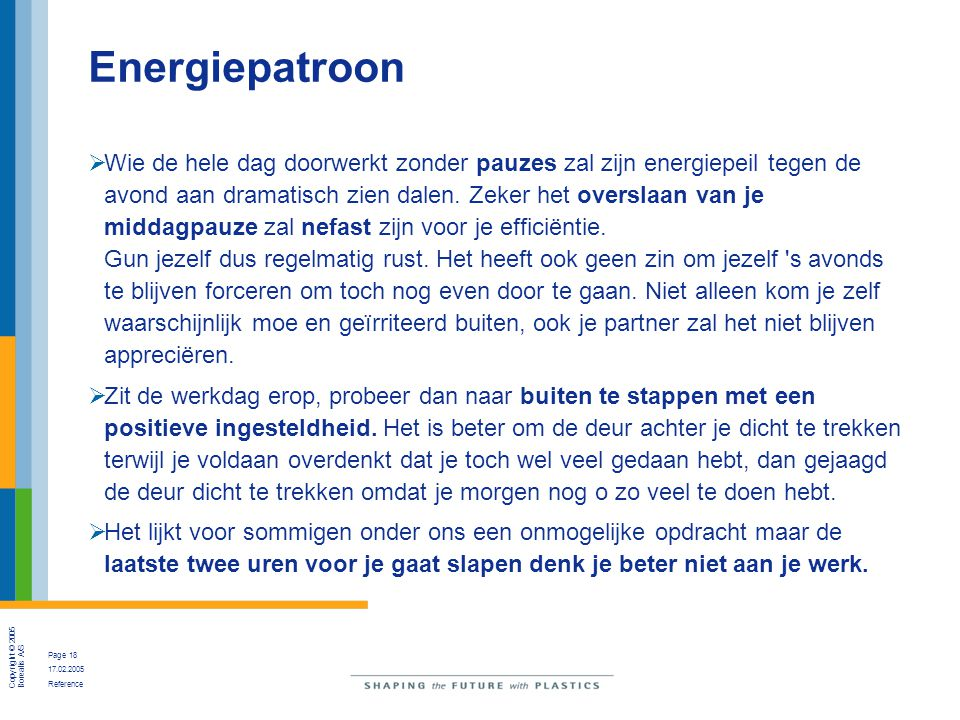 Energiepatroon