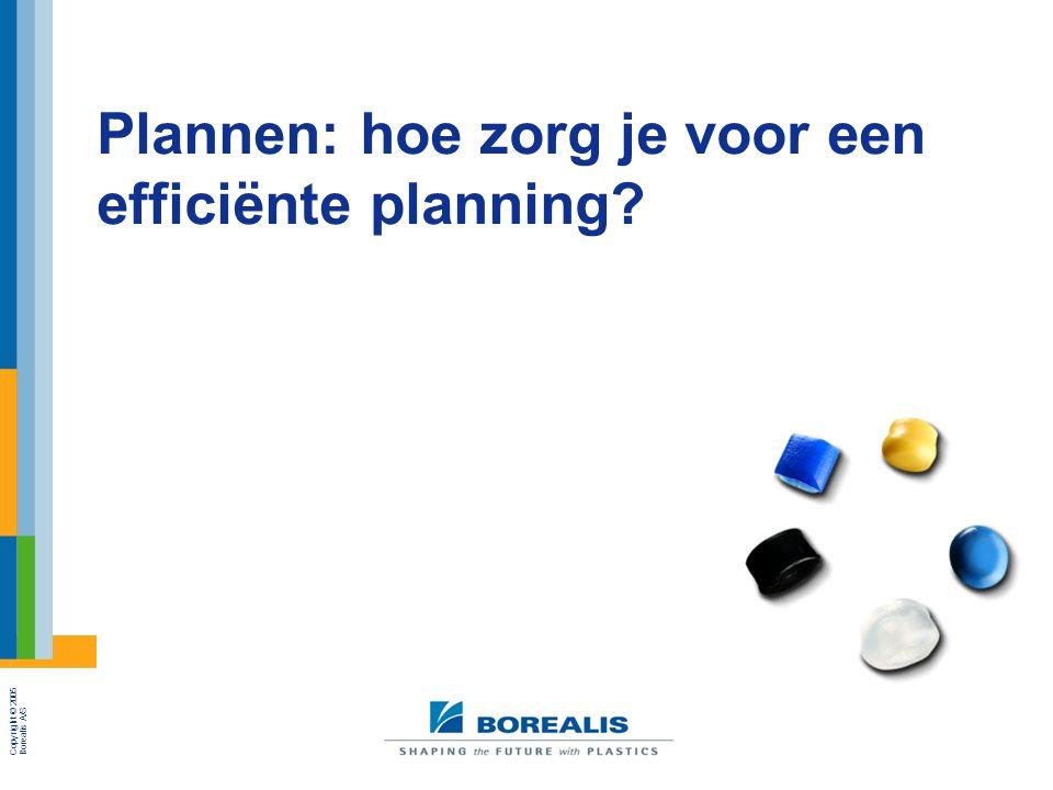 Plannen: hoe zorg je voor een efficiënte planning