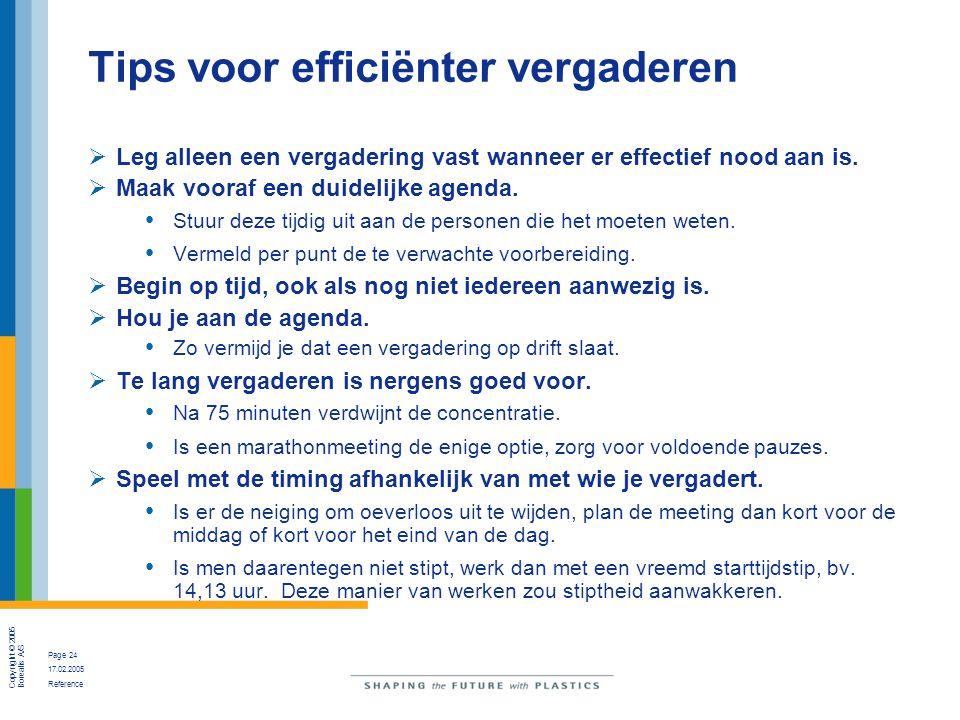 Tips voor efficiënter vergaderen
