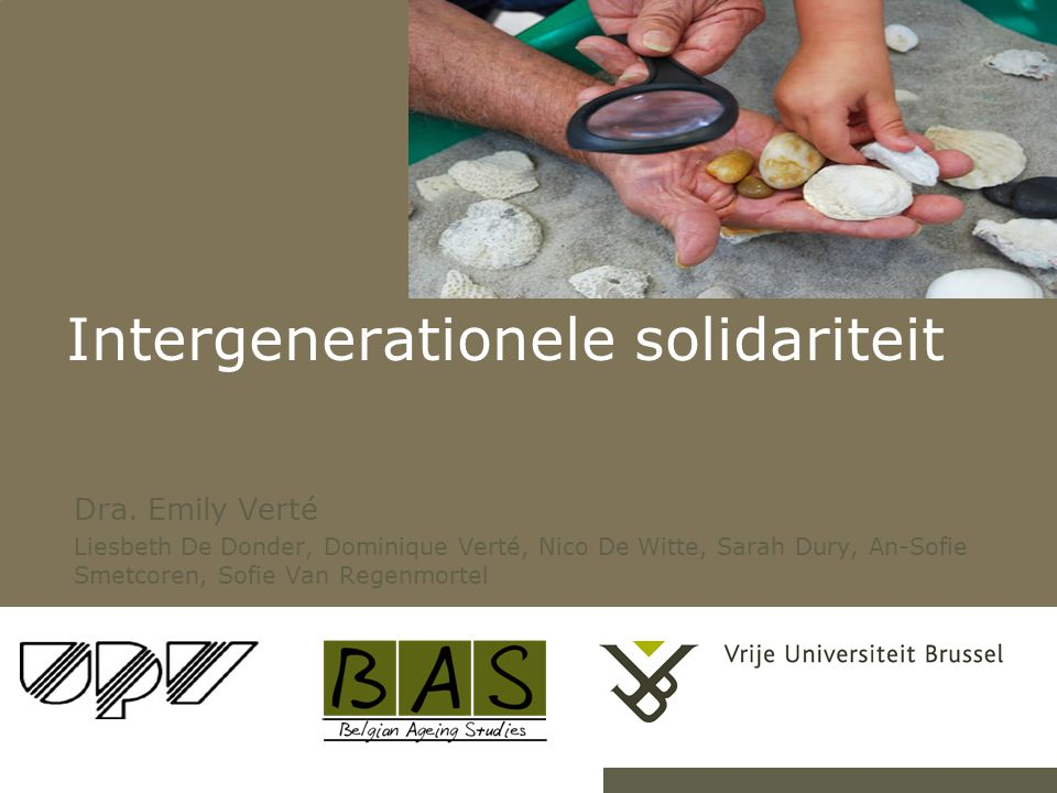 Intergenerationele solidariteit