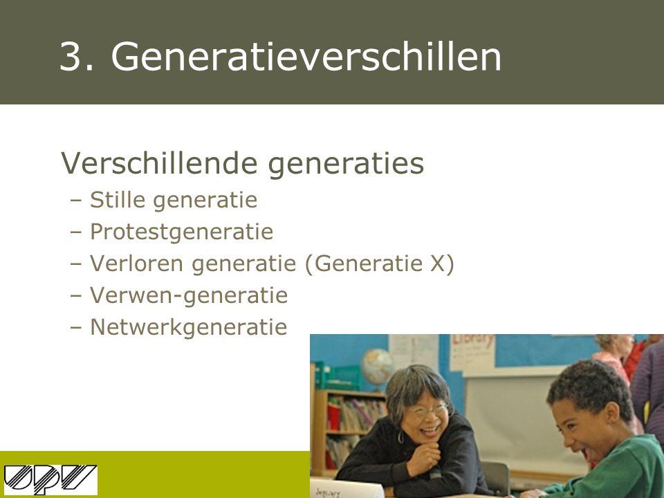 3. Generatieverschillen