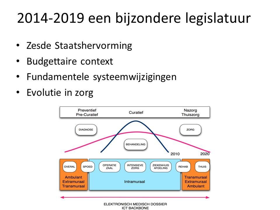 2014-2019 een bijzondere legislatuur