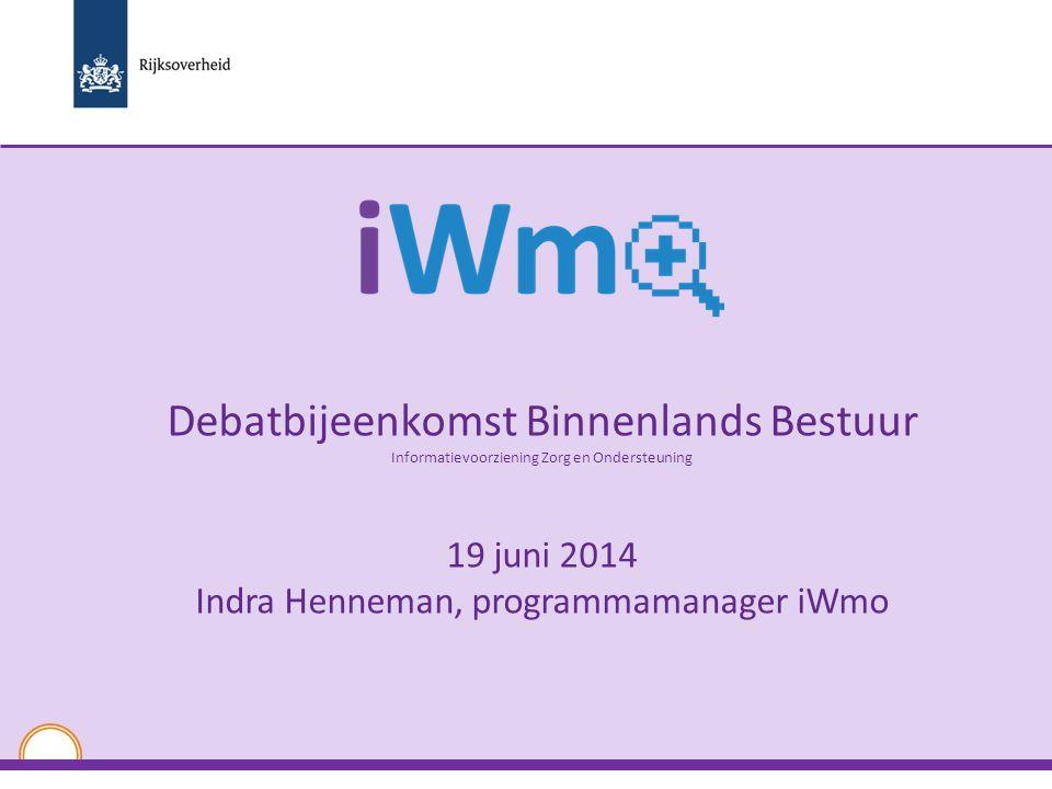 Debatbijeenkomst Binnenlands Bestuur