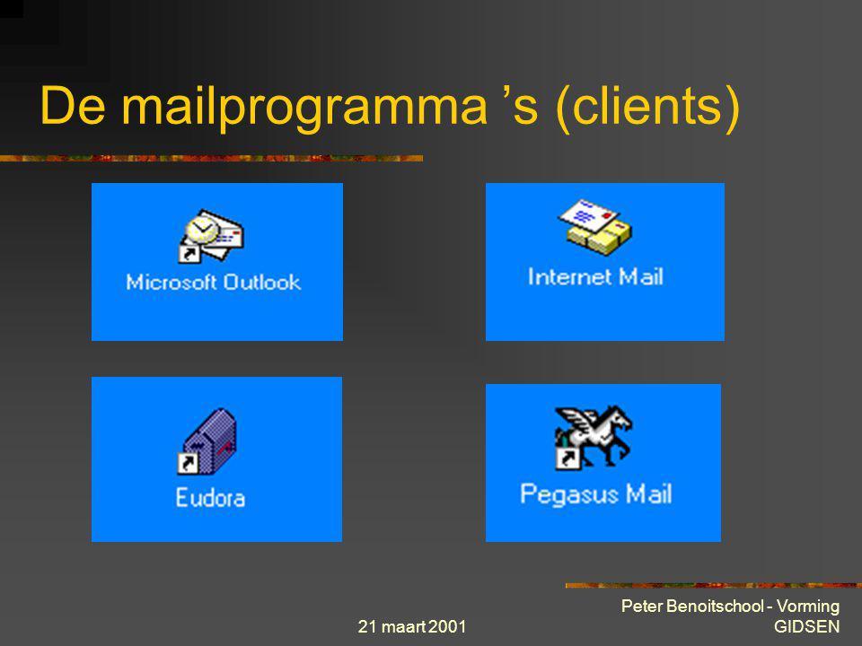 De mailprogramma 's (clients)