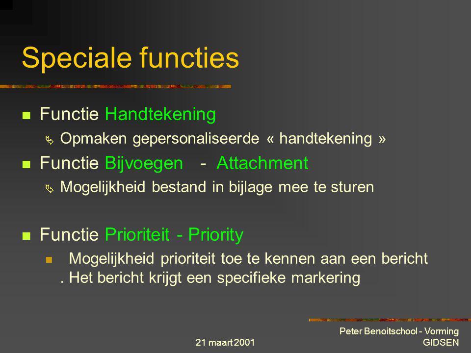 Speciale functies Functie Handtekening Functie Bijvoegen - Attachment