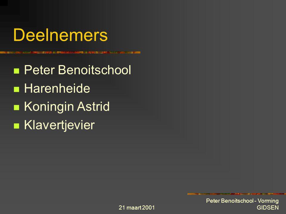 Deelnemers Peter Benoitschool Harenheide Koningin Astrid Klavertjevier