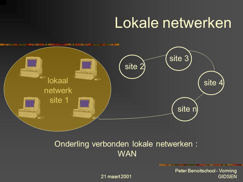 Onderling verbonden lokale netwerken : WAN