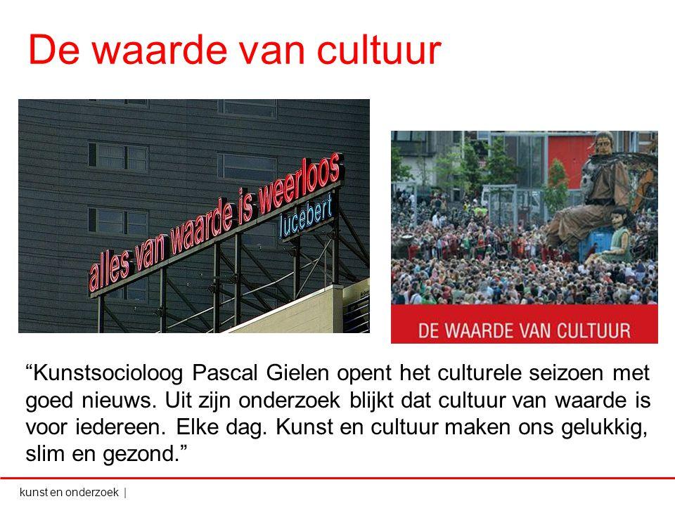 De waarde van cultuur