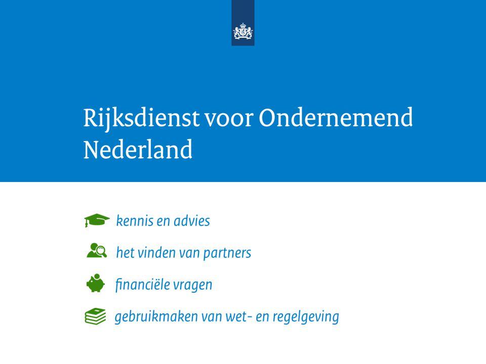 Deel 2: Bied perspectief & introductie Rijksdienst voor Ondernemend Nederland