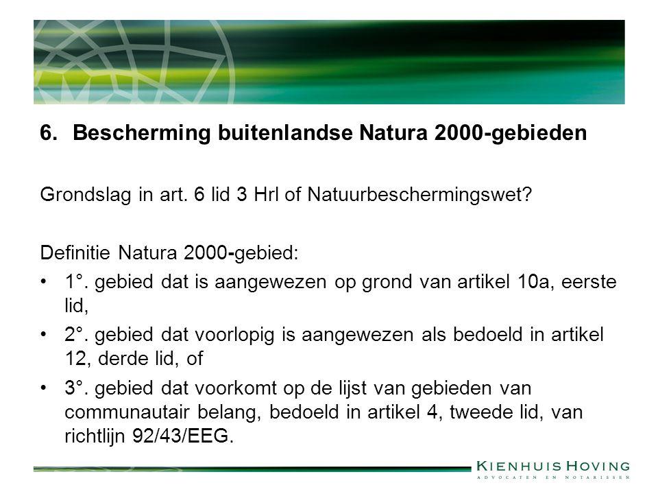 Bescherming buitenlandse Natura 2000-gebieden