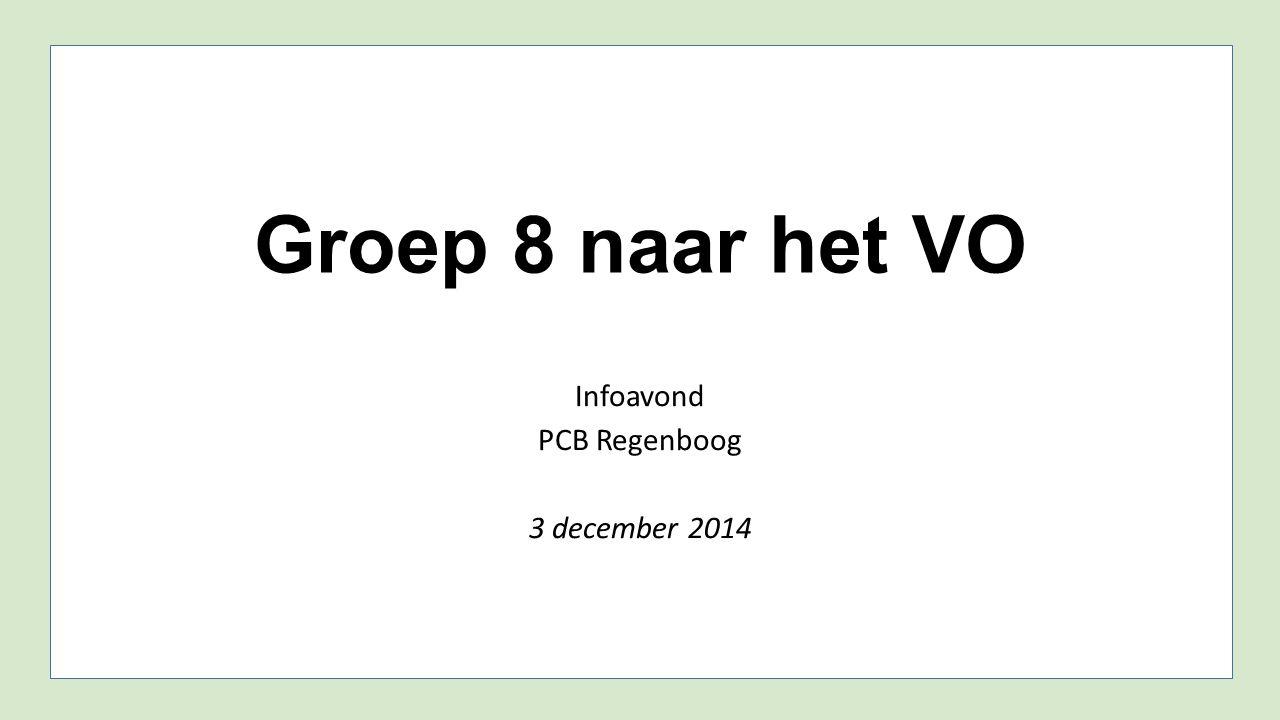 Infoavond PCB Regenboog 3 december 2014