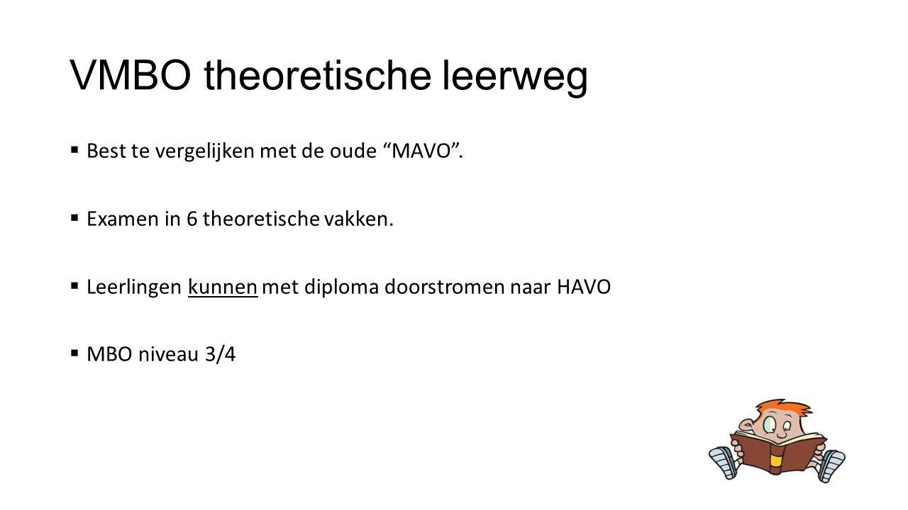 VMBO theoretische leerweg