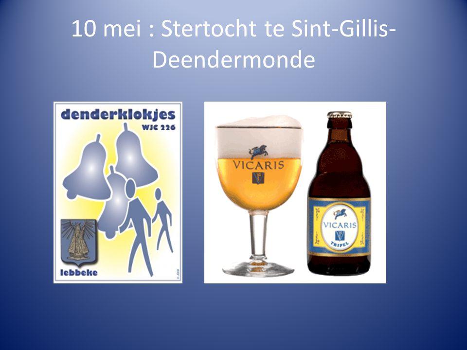 10 mei : Stertocht te Sint-Gillis-Deendermonde