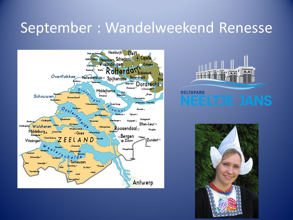 September : Wandelweekend Renesse