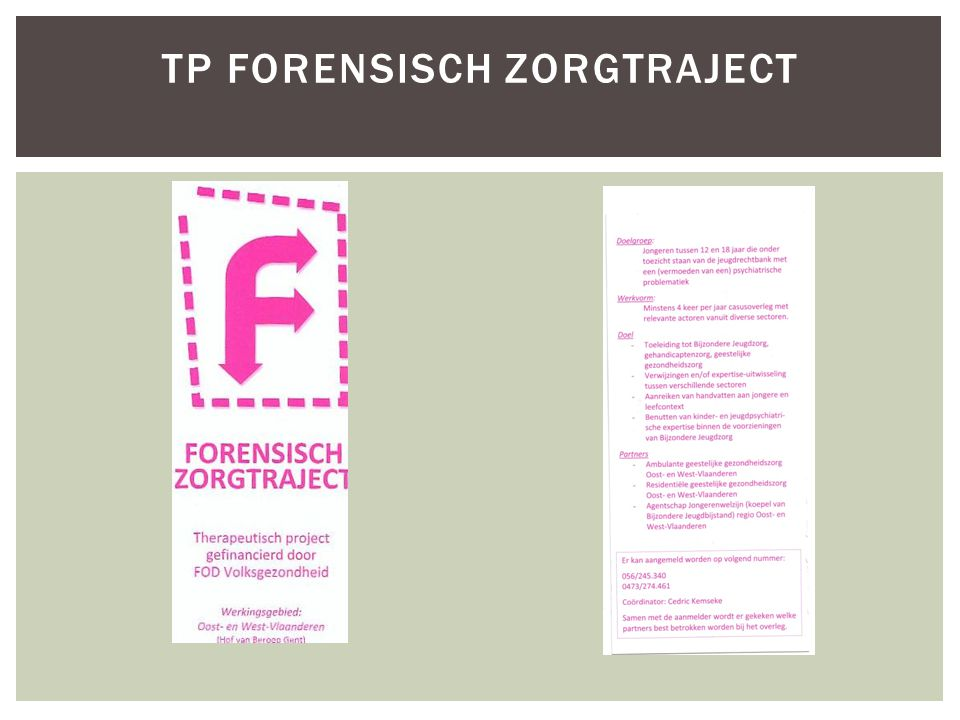 TP Forensisch zorgtraject
