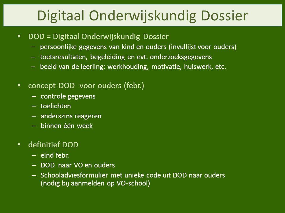 Digitaal Onderwijskundig Dossier