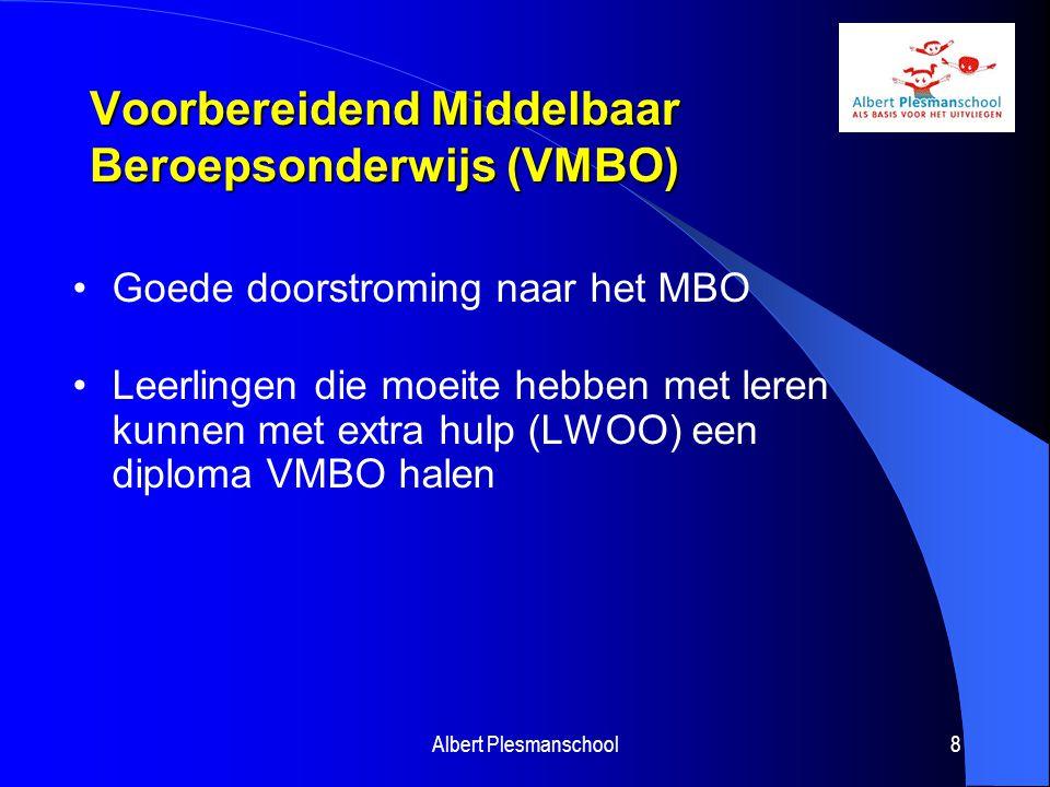Voorbereidend Middelbaar Beroepsonderwijs (VMBO)