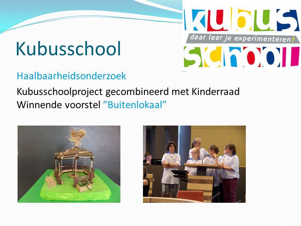 Kubusschool Haalbaarheidsonderzoek