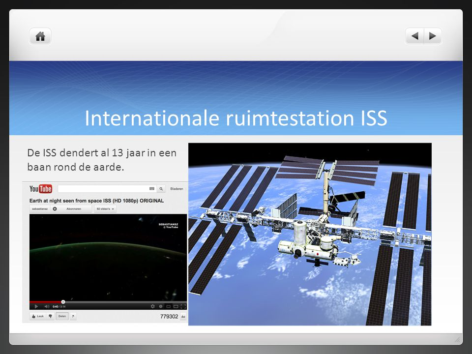 Internationale ruimtestation ISS