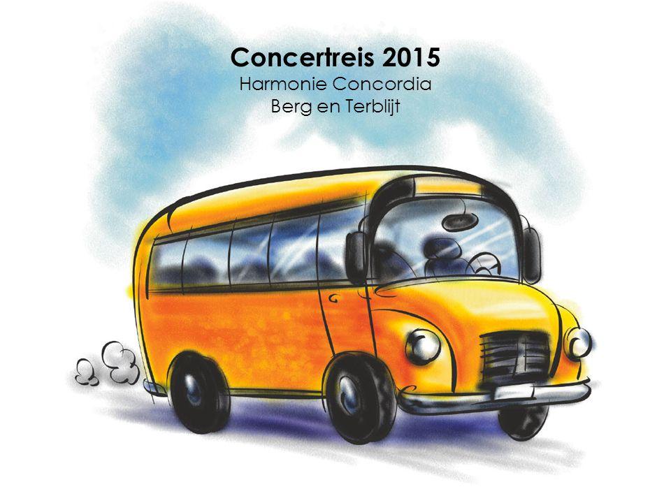 Concertreis 2015 Harmonie Concordia Berg en Terblijt