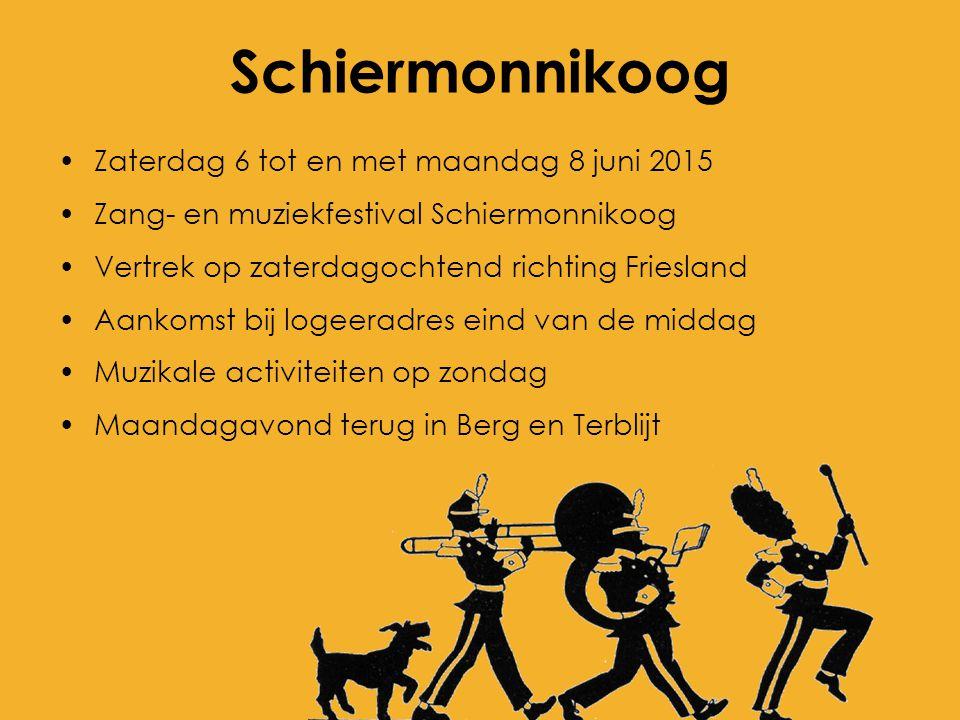 Schiermonnikoog Zaterdag 6 tot en met maandag 8 juni 2015