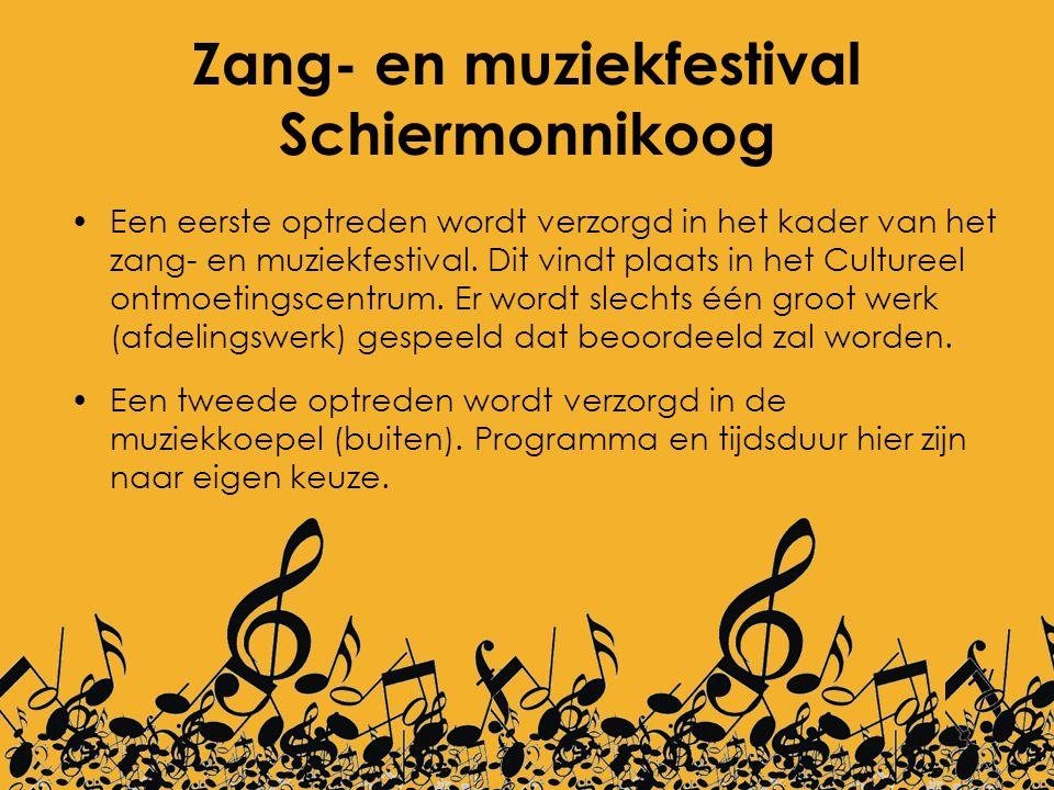 Zang- en muziekfestival Schiermonnikoog