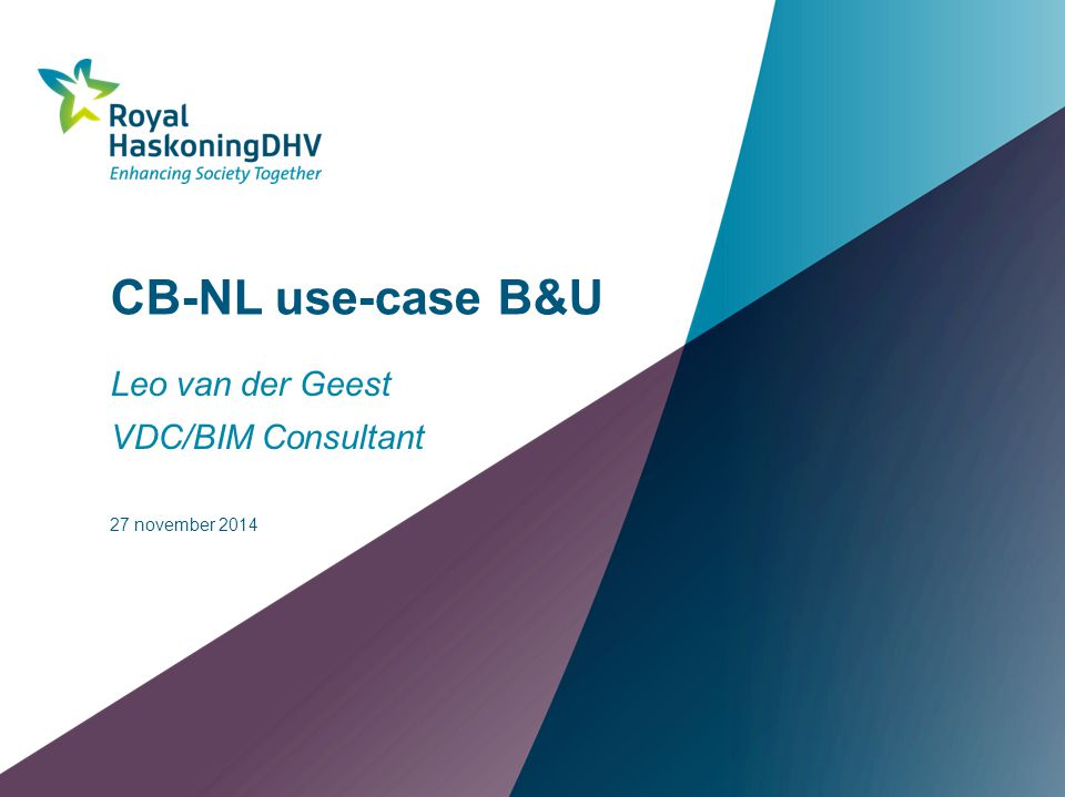 Leo van der Geest VDC/BIM Consultant