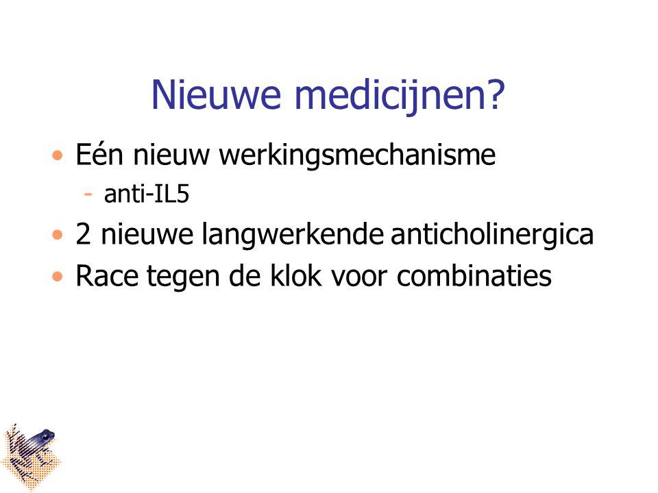 Nieuwe medicijnen Eén nieuw werkingsmechanisme
