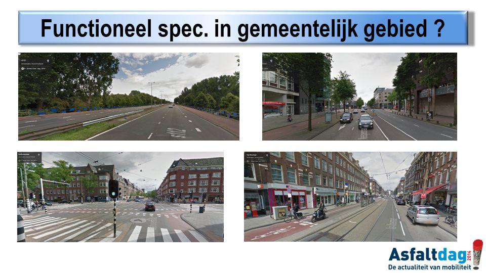 Functioneel spec. in gemeentelijk gebied