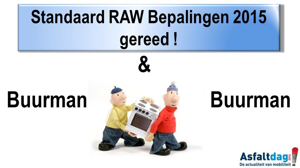Standaard RAW Bepalingen 2015