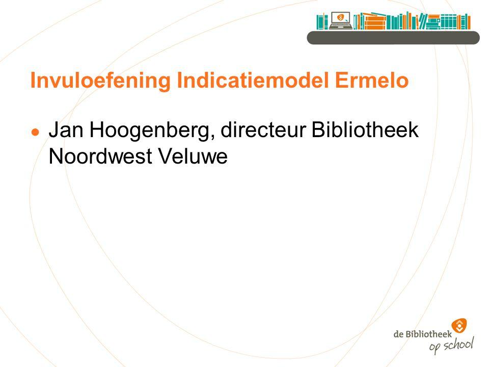 Invuloefening Indicatiemodel Ermelo