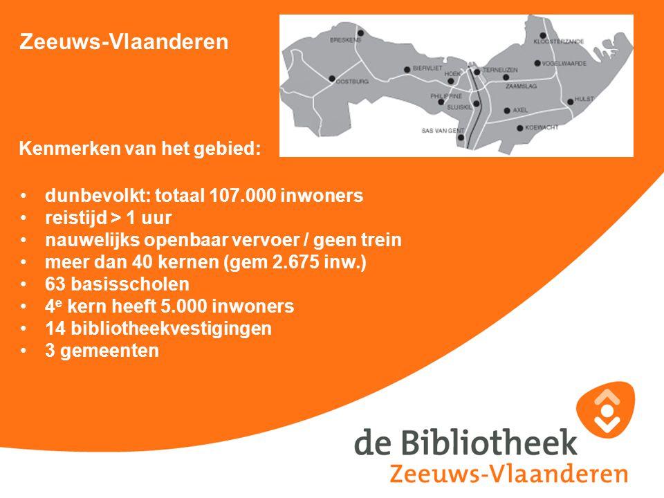 Zeeuws-Vlaanderen Kenmerken van het gebied: