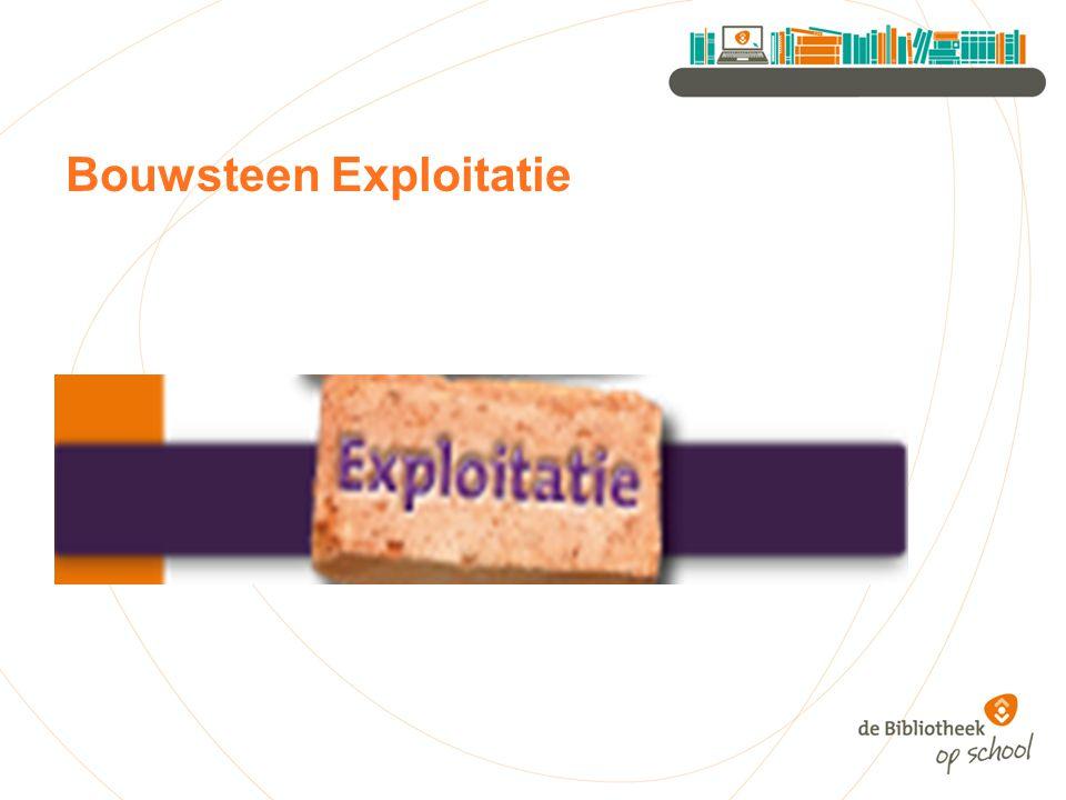 Bouwsteen Exploitatie