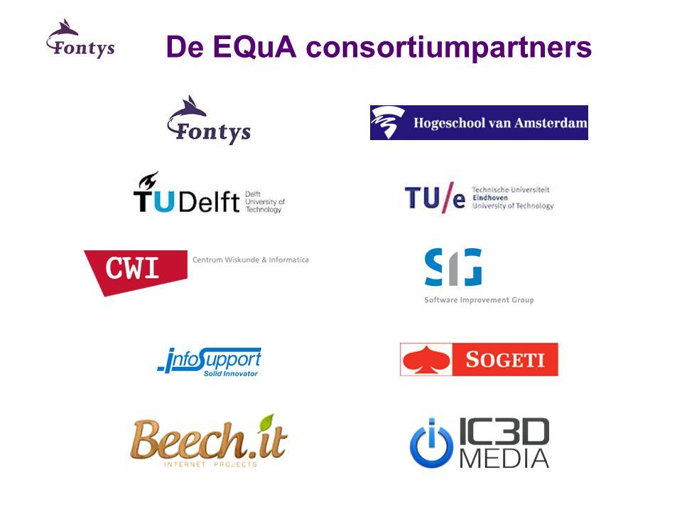 De EQuA consortiumpartners