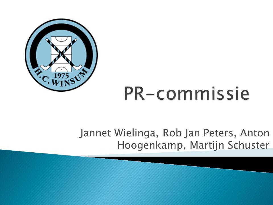 Jannet Wielinga, Rob Jan Peters, Anton Hoogenkamp, Martijn Schuster