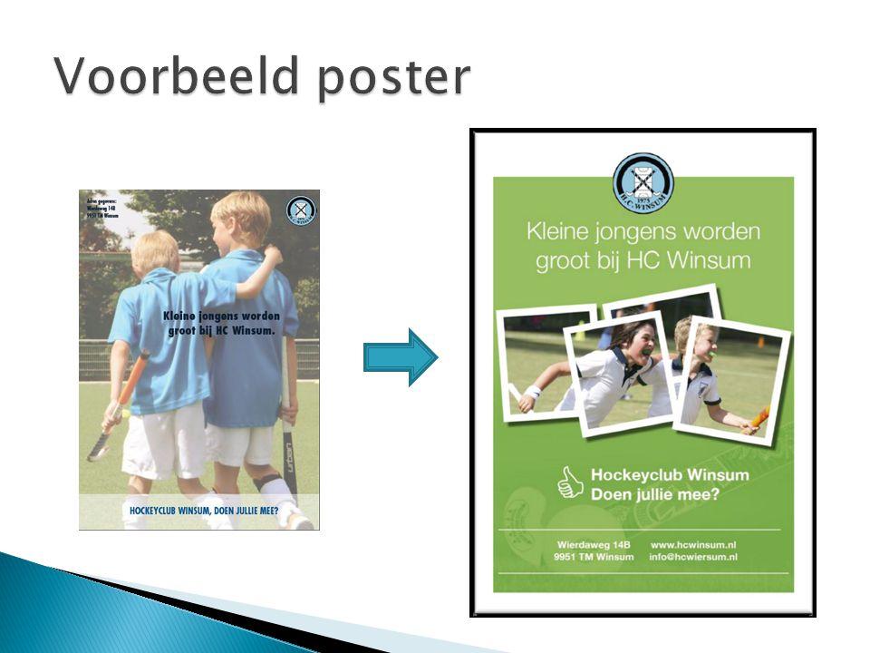 Voorbeeld poster