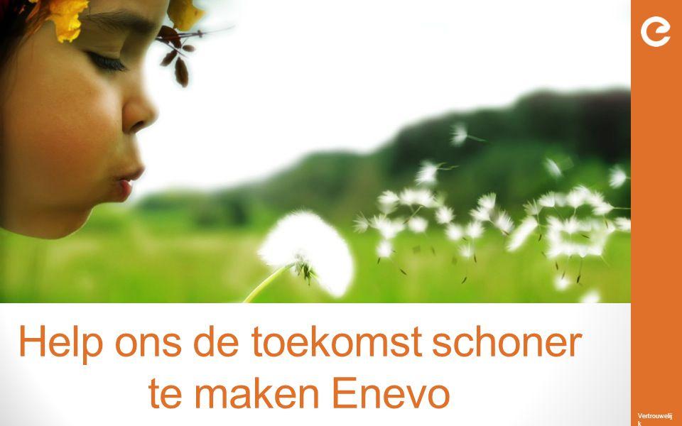 Help ons de toekomst schoner te maken Enevo