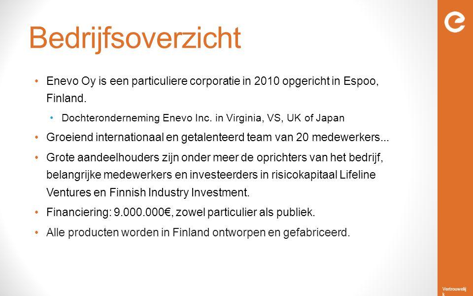 Bedrijfsoverzicht Enevo Oy is een particuliere corporatie in 2010 opgericht in Espoo, Finland.
