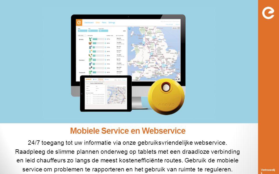 Mobiele Service en Webservice