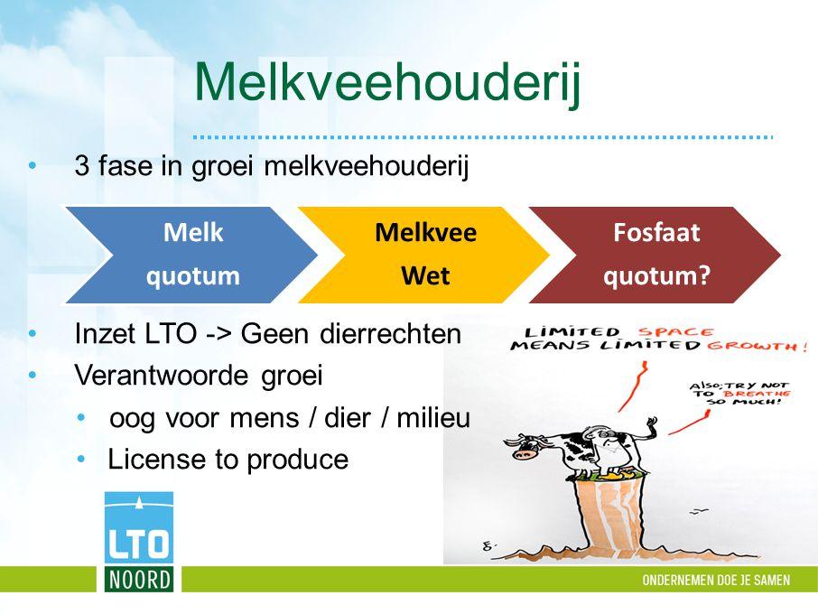Melkveehouderij 3 fase in groei melkveehouderij