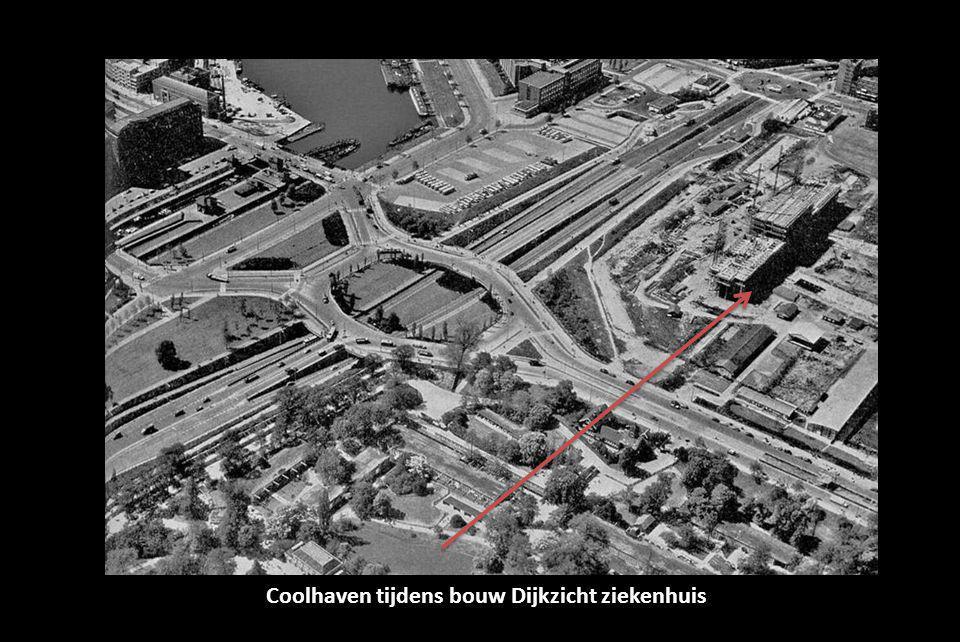 Coolhaven tijdens bouw Dijkzicht ziekenhuis