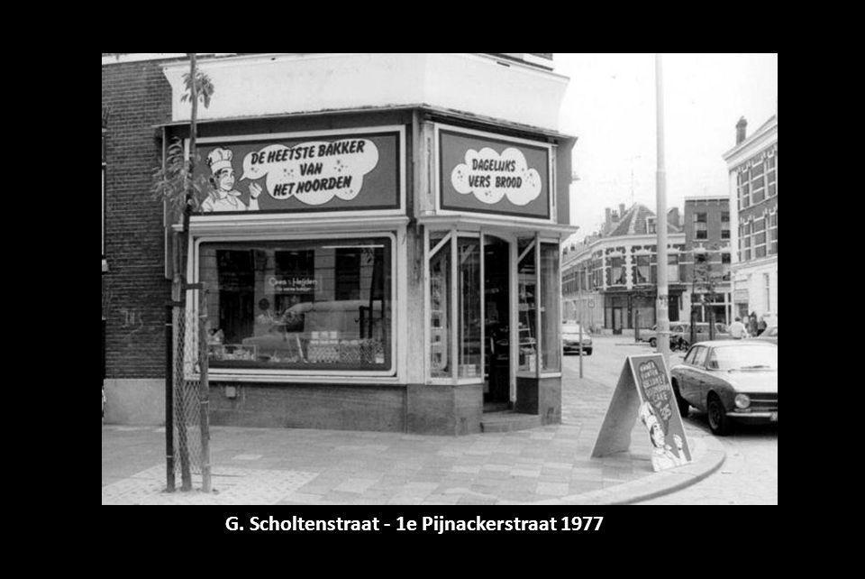 G. Scholtenstraat - 1e Pijnackerstraat 1977