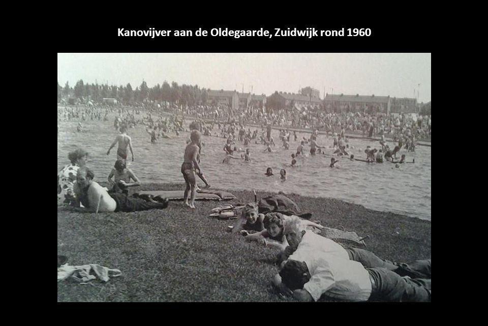 Kanovijver aan de Oldegaarde, Zuidwijk rond 1960