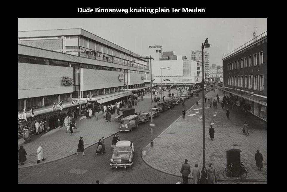 Oude Binnenweg kruising plein Ter Meulen