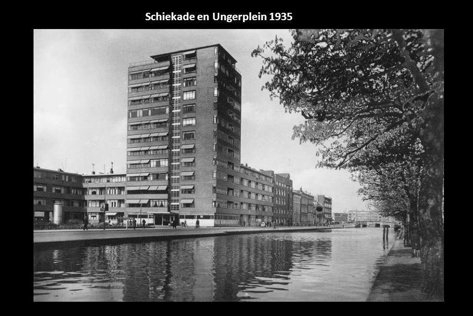 Schiekade en Ungerplein 1935