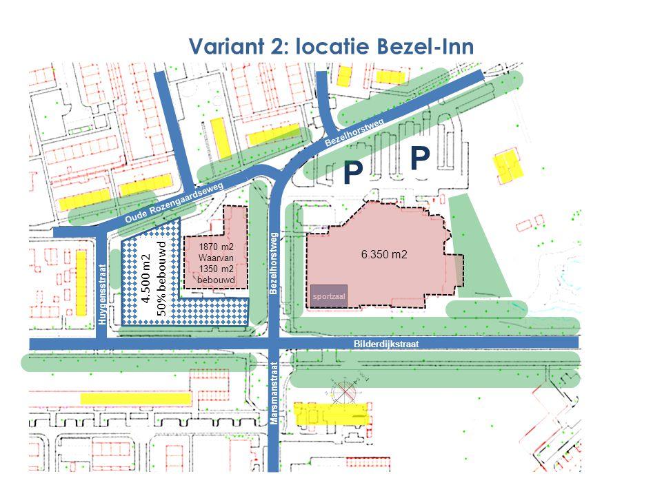 Variant 2: locatie Bezel-Inn