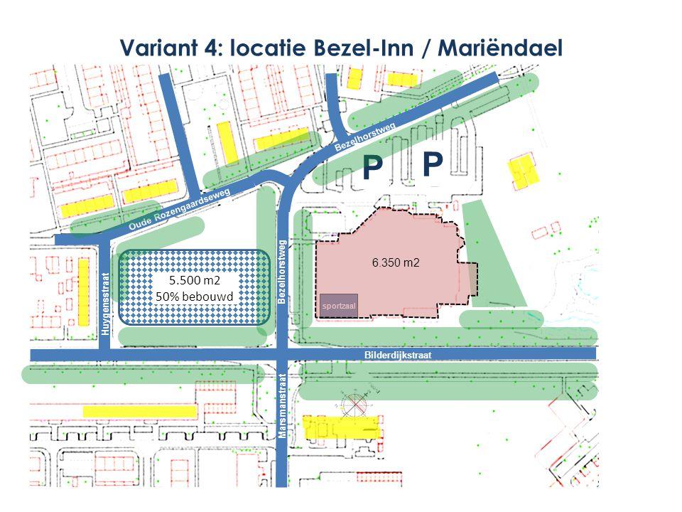 Variant 4: locatie Bezel-Inn / Mariëndael